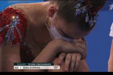 Петербургская гимнастка Дина Аверина заняла второе место наОлимпиаде