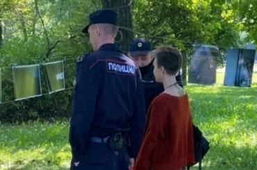 Организаторов уличной выставки оставили досуда, участников отпустили