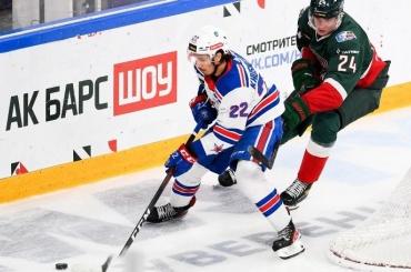 СКА проиграл вфинале Кубка чемпионов КХЛ «АкБарсу»