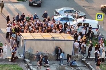 Жители Мурино отстояли бульвар Менделеева