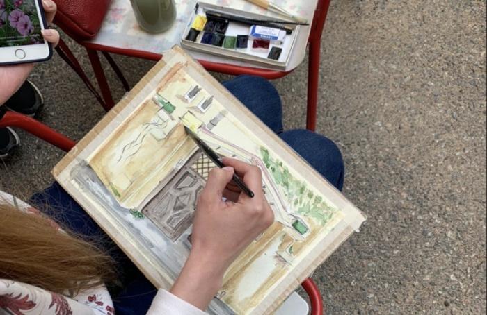 Нарисовать ворота, обменяться книгами ирастениями можно будет вэту субботу