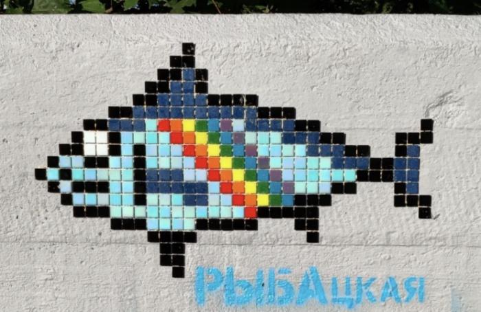 Рыба изРыбацкого иМурка изМурина: окраины обзаводятся маскотами