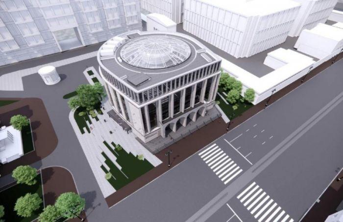 Над «Фрунзенской» возведут стеклянный купол