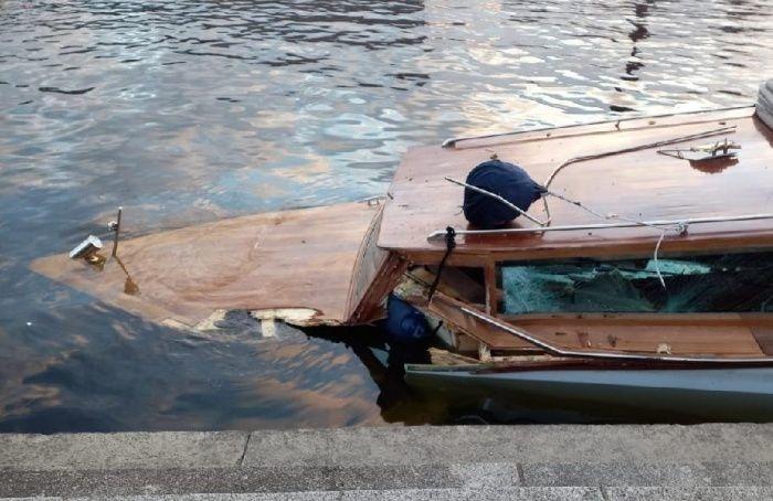 Катер спассажирами затонул уКантемировского моста