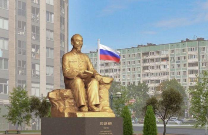 В Выборгском районе поставят памятник ХоШиМину