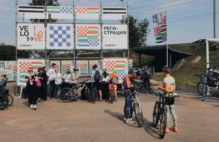 Велосипедисты проехали попилотному участку трассы Москва— Петербург