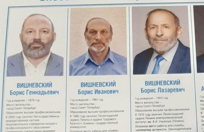 Глава ЦИК попросила двойников Вишневского сняться свыборов, пока непоздно