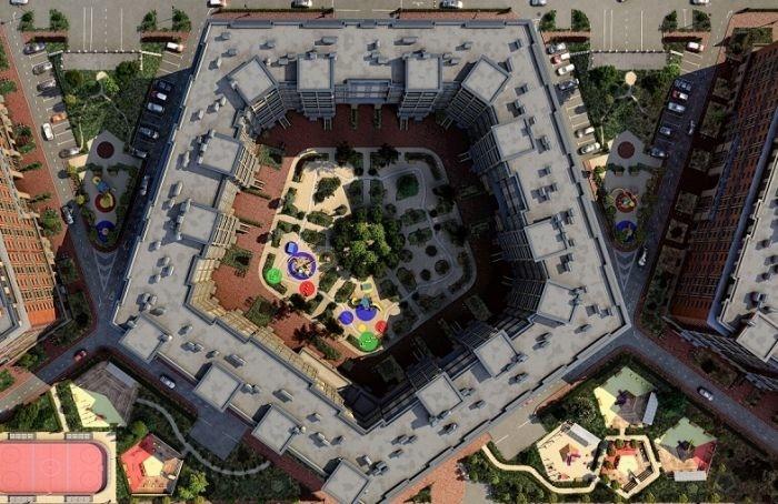 Петербуржцы обсуждают новые дворы-колодцы высотой в11 этажей