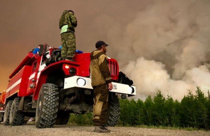 Потушатли пожары вСибири деньгами? Фактчек