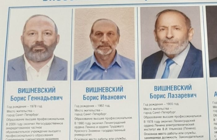 ЦИК России планирует бороться сиспользованием кандидатов-двойников