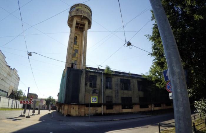 НаВасильевском острове отреставрируют Канатный цех сводонапорной башней