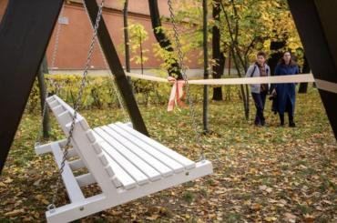 ВИзмайловском саду появился новый арт-объект