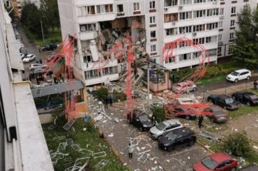 Три этажа жилого дома обрушились после взрыва газа вподмосковном Ногинске