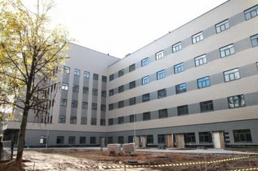 Новый корпус больницы Святого Георгия откроют вдекабре