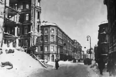 Здесь умирали ленинградцы