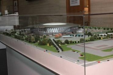 Появились фотографии проекта арены, которая появится наместе СКК