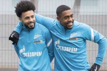 FIFA разрешила Малкому иКлаудиньо сыграть за«Зенит» вдвух ближайших матчах