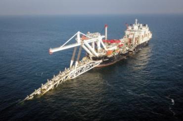 Строительство газопровода «Северный поток— 2» полностью завершено
