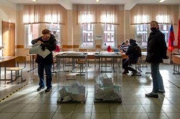 Явка навыборы вЗаксобрание Петербурга превысила 35 процентов