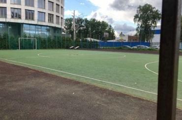 Застройки наместе спортивной площадки 168-й гимназии небудет
