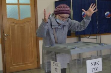 Как вПетербурге началось голосование навыборах вЗакС иГосдуму