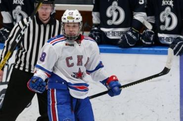 Дубль 16-летнего Матвея Мичкова помог СКА разгромить «Адмирал»