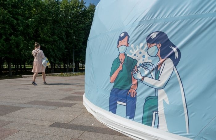 Петербург снова обошел Москву почислу заразившихся ковидом