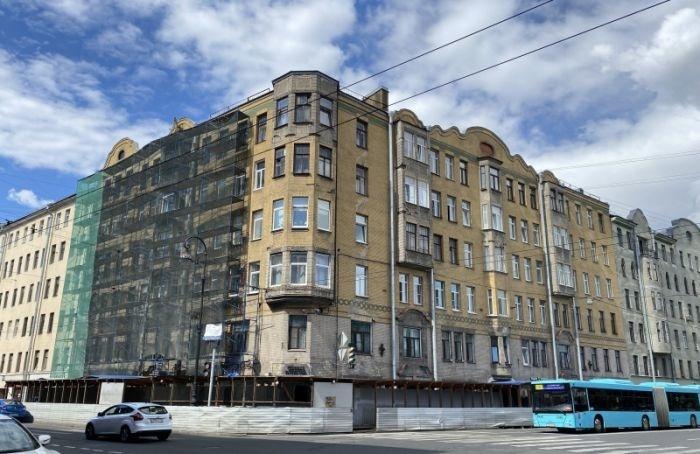 Петербуржцы добились начала реставрации доходного дома Каценеленбогена