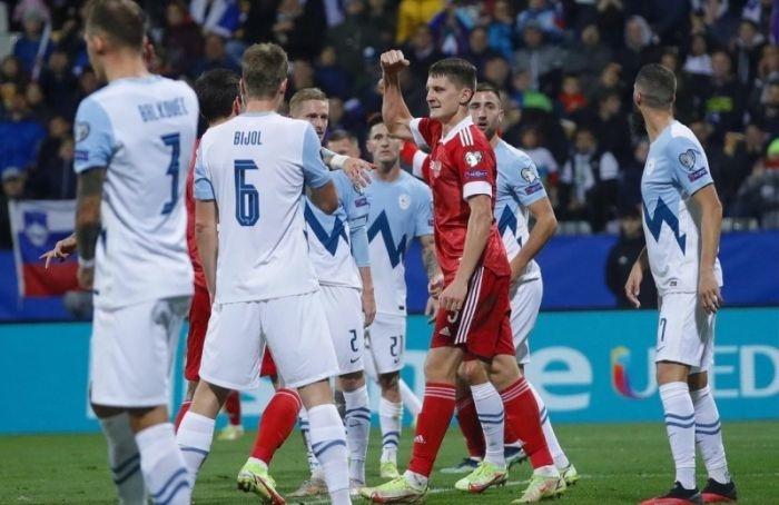 Отбор наЧМ-2022: Россия вгостях победила Словению