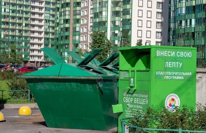 ВКалининском районе установят 3200 контейнеров для сбора вторсырья
