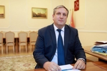 Максима Мейксина назначили напост вице-губернатора Петербурга