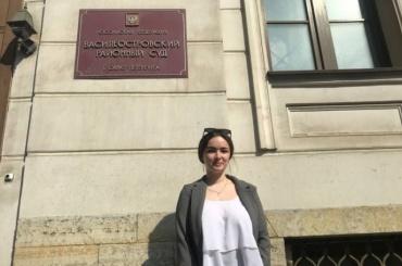 Студентке, которую отчислили изСПбГУ пополитическим причинам, отказали ввосстановлении иморальной компенсации