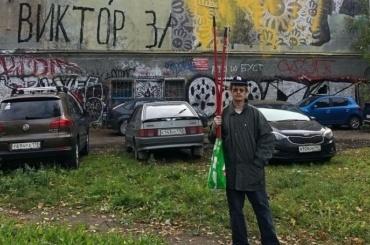 Здание нанабережной Обводного канала стало полем боя стрит-арт-художников