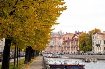 Петербург снова ждёт день без осадков