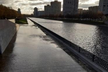 Река Смоленка вышла изберегов