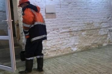НаВасильевском затопило «Мосты»