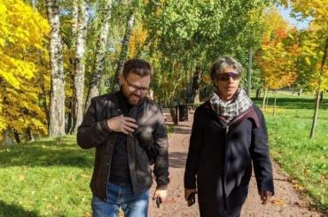 Архитектор изАнглии посетил Красногвардейский район