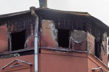 Вовремя пожара нанабережной Карповки пострадало 25 квартир