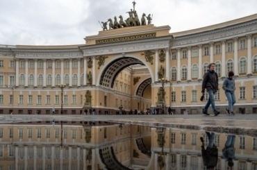 Петербург попал вхолодную часть циклона