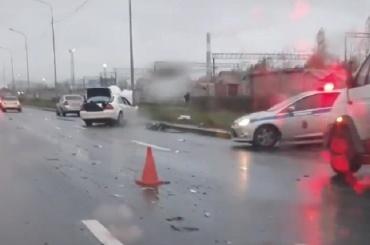 Столкновение савтобусом закончилось для водителя легковушки смертью