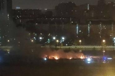 НаСуздальском проспекте ночью горел автосервис