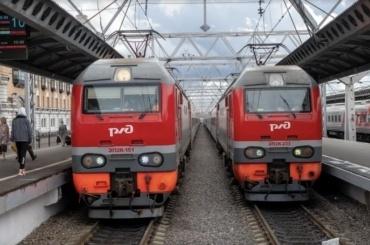 Дополнительные поезда будут курсировать между Петербургом иМосквой наноябрьские праздники