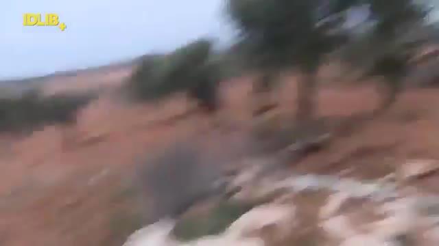 Появилось видео сражения пилота сбитого вСирии Су-25 сбоевиками